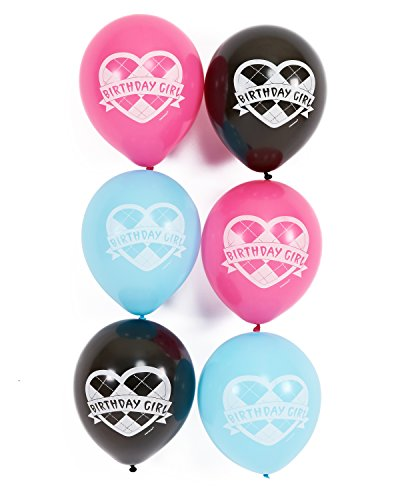 American Greetings Monster High 12 in Balloons (6 Count), Party Supplies