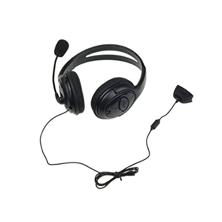 BestDealUSA Headset Headphone With Noise Canceling Microphone For Xbox 360