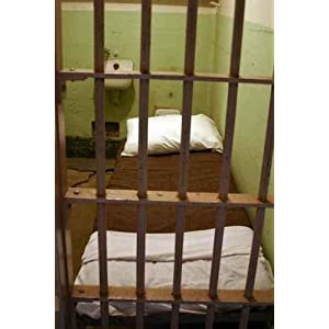 Alcatraz Prison Cell - Peel and Stick Wall Decal by Wallmonkeys