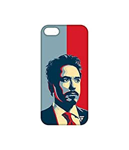 Vogueshell Iron Man Printed Symmetry PRO Series Hard Back Case for Apple iPhone 5