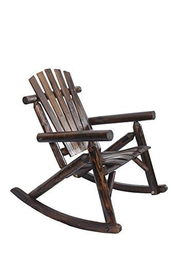 American Furniture Classics Log Rocking Chair - Burnt Burnt New  eBay