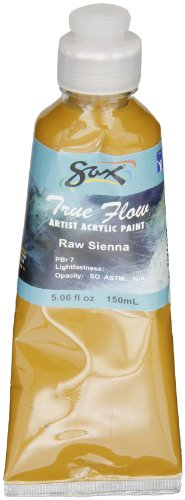 Sax True Flow Artists Acrylic - 150 Milliliters - Raw Sienna