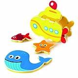 Meadow Kids MEA MK196 Bath Toys Build a Submarine