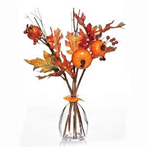 Yankee Candle Spiced Pumpkin Scented Flower Reed Diffuser