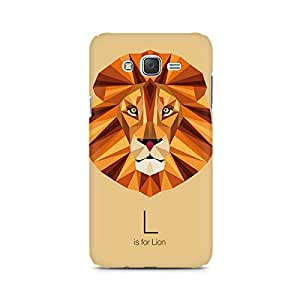 Mobicture L is for Lion Premium Printed Case For Samsung J3 2016