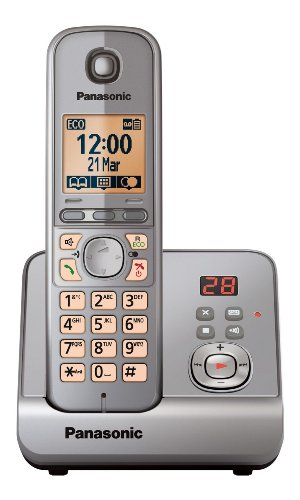 Panasonic KXTG6721 Digital Cordless Phone with Answer Machine picture