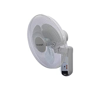 micromark mm53612 16 remote control wall mounted fan