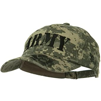 US Army Digital ACU Washed Cap - Army 4