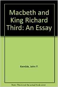 richard the third essay
