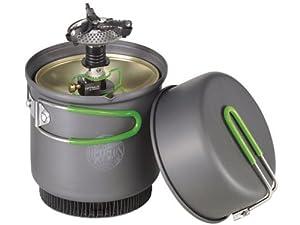 Optimus Kocher Crux mit Terra Weekend HE Kochset, 0.95 L