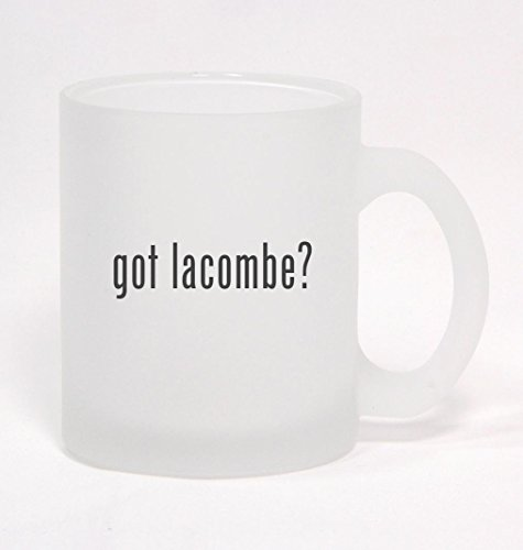 got lacombe? - Frosted Glass Coffee Mug 10oz (Lacombe Coffee compare prices)