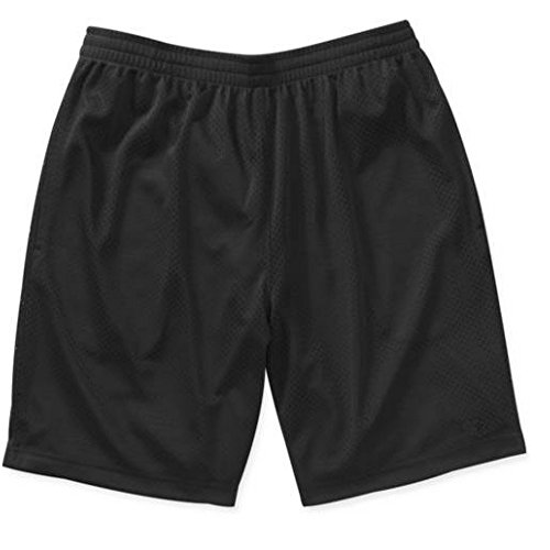 Starter Men's Active Mesh Athletic Shorts (Regular & Big Men's) (XXX-Large, Black) (Starter Star Shorts compare prices)