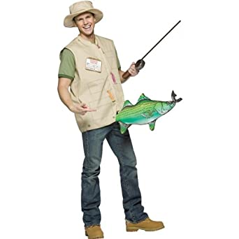 Catch of the Day Costume - One Size - Chest Size 42-48