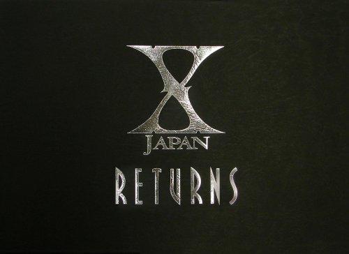 X JAPAN RETURNS 完全版 DVD-BOX