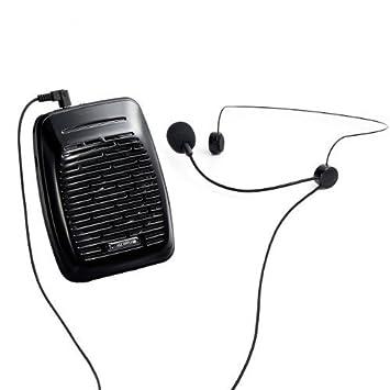 【クリックで詳細表示】サンワダイレクト ポータブル拡声器 ハンズフリー 小型 20W 400-SP043: 楽器