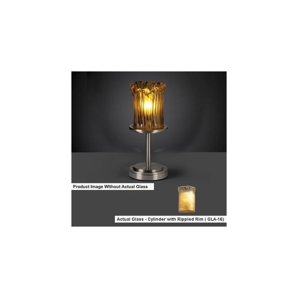 Justice Design Group FAL 8798 Dakota 1 Light Table Lamp (Short)