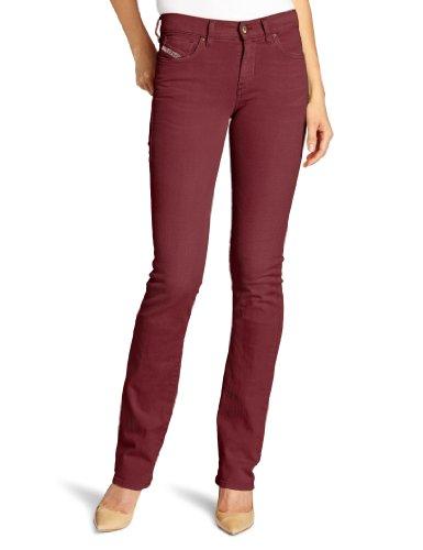 DIESEL - Jeans da Dona BOOTZEE 111D - Regular Slim - Bootcut - Stretch - rosso, W32