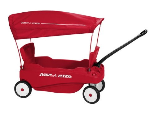 Radio Flyer Venture Sport Wagon Red White