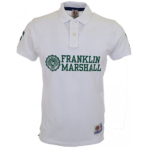 Franklin & Marshall -  Polo  - Uomo bianco Small