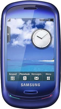 Samsung Blue Earth S7550 Unlocked GSM Phone.
