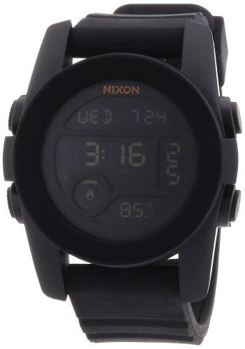 Nixon A490001-00 - Orologio da polso unisex, silicone, colore: nero