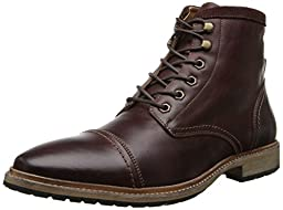 Florsheim Men\'s Indie Cap Toe Boot  , Chocolate Smooth, 10 D US