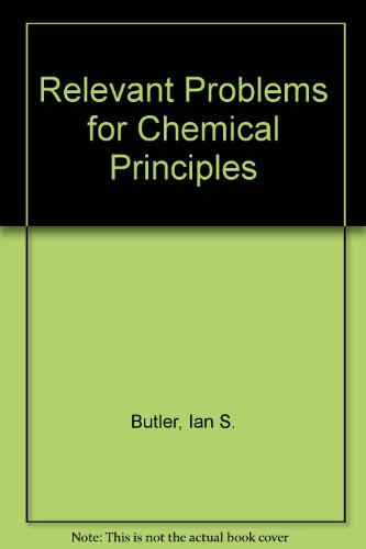 Relevant Problems for Chemical Principles