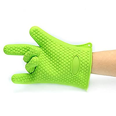 Barbecue Gloves & Pulled Pork Claws Set ? Silicone Heat Resistant Grilling Accessories & Home Kitchen Tools For Your Indoor & Outdoor Cooking Needs ? Use as BBQ Meat Turner or Oven Mitts