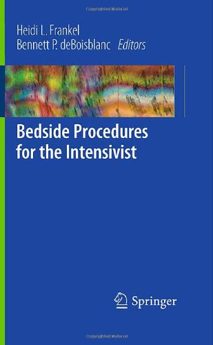Bedside Procedures for the Intensivist