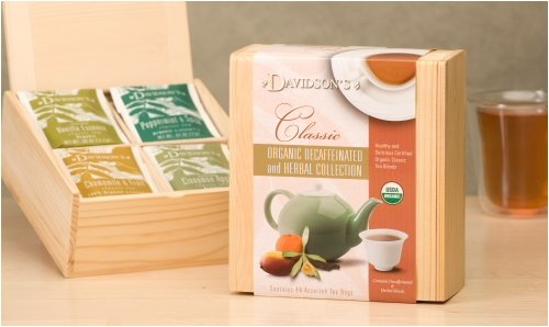 Classic Decaf & Herbal Tea Collection Chest
