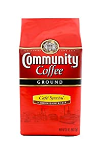 Community Coffee Ground Cafe Special, 32 Ounce (Pack of 2)