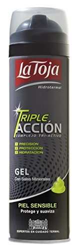La Toja Dopobarba, Tripel Accion Sensitive Skin Shaving Gel, 200 ml