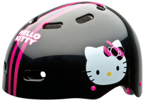 Why Should You Buy Bell Child's Hello Kitty Sporty Kitty Multi-Sport Bike Helmet