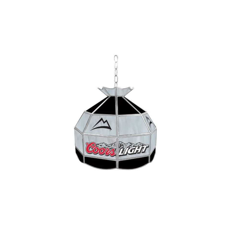 ADG Source Coors Light Stained Glass Pendant Lamp