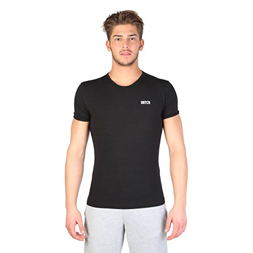 T-shirt Intimo Datch 07U1027_402 Nero