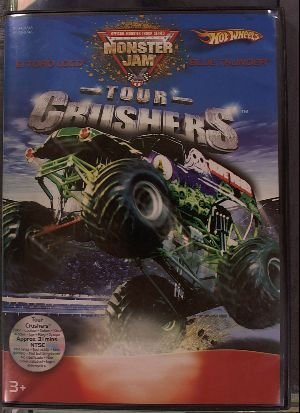 HotWheels DVD Pack Monster Jam Tour Crushers El Toro Loco VS Blue Thunder with Vehicle Blue Thunder
