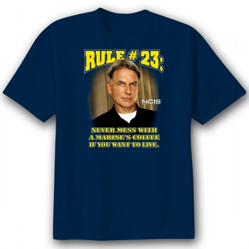NCIS Gibbs Never Mess with a Marine's Coffee T-Shirt