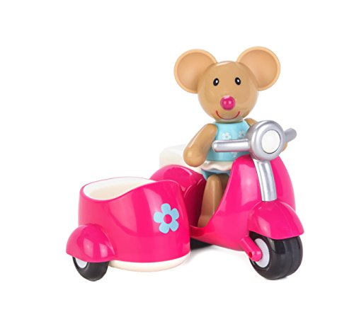 Early Learning Centre (ELC) Toybox Martha Mouse and her Scooter Baby Toy - 1