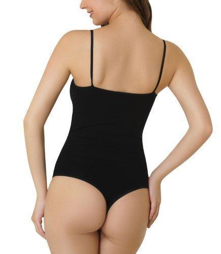 Kefali Cologne® Damen Body Stringbody mit Spaghettiträgern Thong Bodysuit