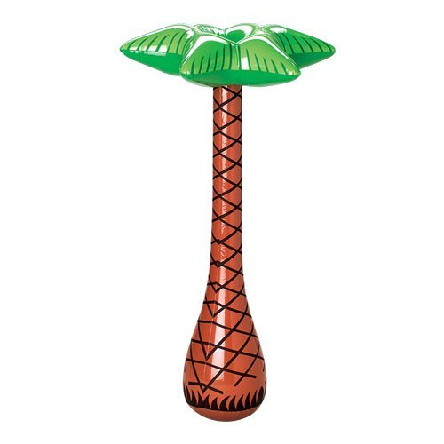 "One 27 1/2"" Inflatable Palm Tree"