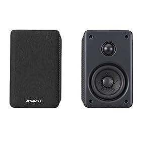 SANSUI Bluetooth2.0chアンプ内蔵スピーカー SAS-H20BT