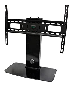 "Universal TV Stand / Base + Wall Mount for 32"" - 60"" Flat-Screen Televisions by Pro Signal"