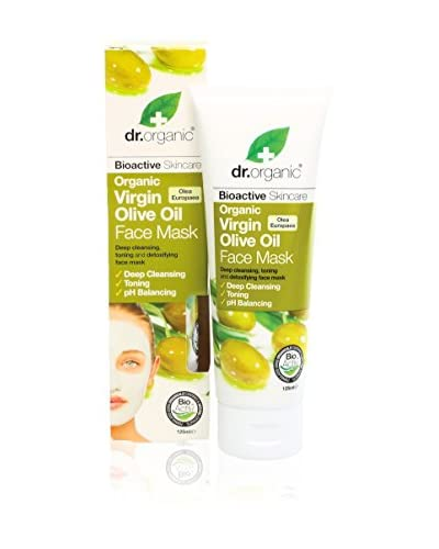 Dr.Organic Maschera Viso Organic Olio d'Oliva 125 ml