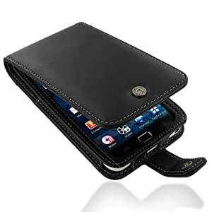 Samsung PDair F41 Black Leather Case for Samsung Galaxy S WiFi 5.0 YP