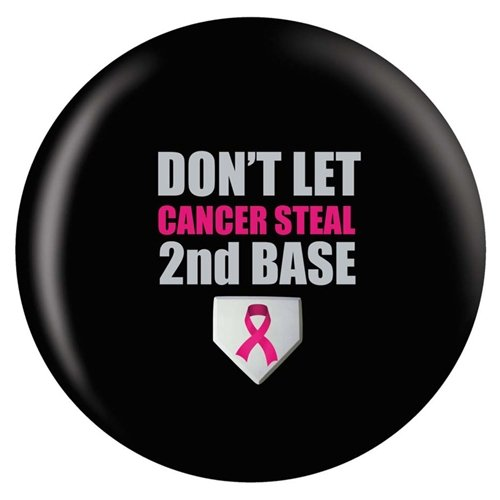 Breast Cancer Awareness Bowling Ball- Second Base (12lbs)