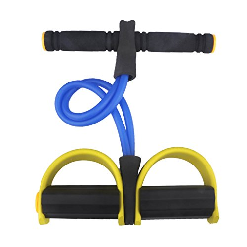 BIAL EX Pedal Bodybuilding Expander Latex Tube Foot Elastic Pull Rope