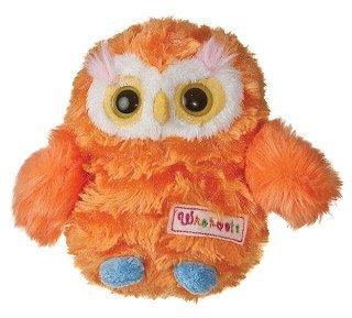 "Whohoots Orange Owl With Sound 5"" By Aurora"