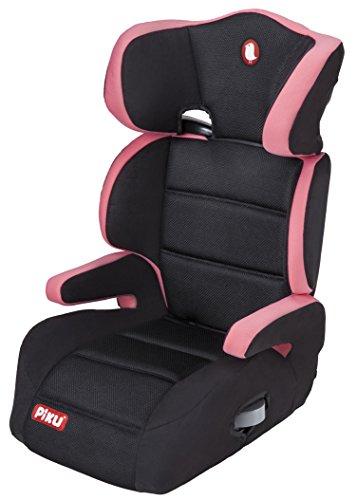 Piku 6228 silla de coche grupo 2 3 15 36 kg 1 12 a os color rosa negro piku puerimundo - Piku silla coche ...
