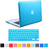 "HDE Frosted Matte Rubber Coated Hard Shell Clip Snap-On Case Cover for Macbook Pro 13"" (A1278) + Matching Keyboard Skin"