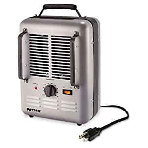 PATTON Utility Heater, 7.7 x 10.3 x 14.6, Gray (PUH682)